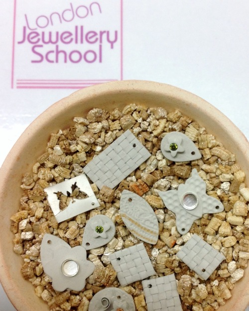 london-jewellery-school-metal-clay-private-tuition-with-Anna-Campbell