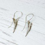 london-jewellery-school-anna-campbell-paper-clay-paper-aeroplane-earrings