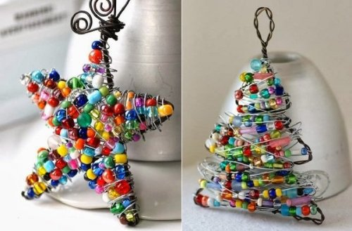 london-jewellery-school-cool-diy-wire-christmas-decorations-tree-star-wire-beads
