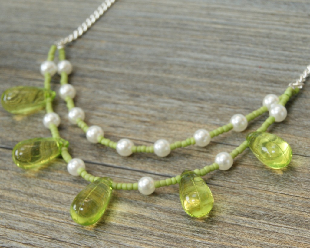 London-Jewellery-School-Blog-Double-Row-Beaded-Necklace-Beading-Course-London