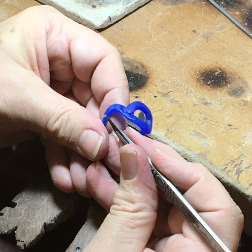 london-jewellery-school-blog-handcrafted-jewellery-wax-carved-ring