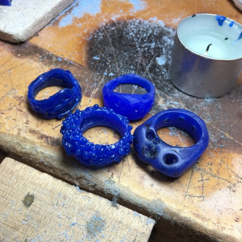 london-jewellery-school-wax-carving-evening-class-student-wax-carving