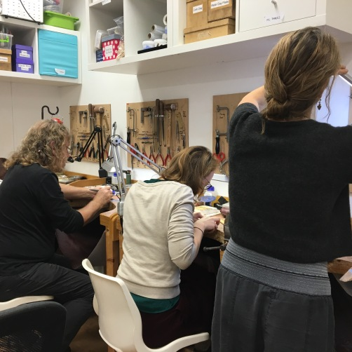 LJS-Blog-wax-carving-evening-class-with-sophie-arnott-at-the-london-jewellery-school-3