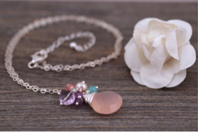 jessica-rose-jewellery-pink-cluster-necklace-with-white-flower