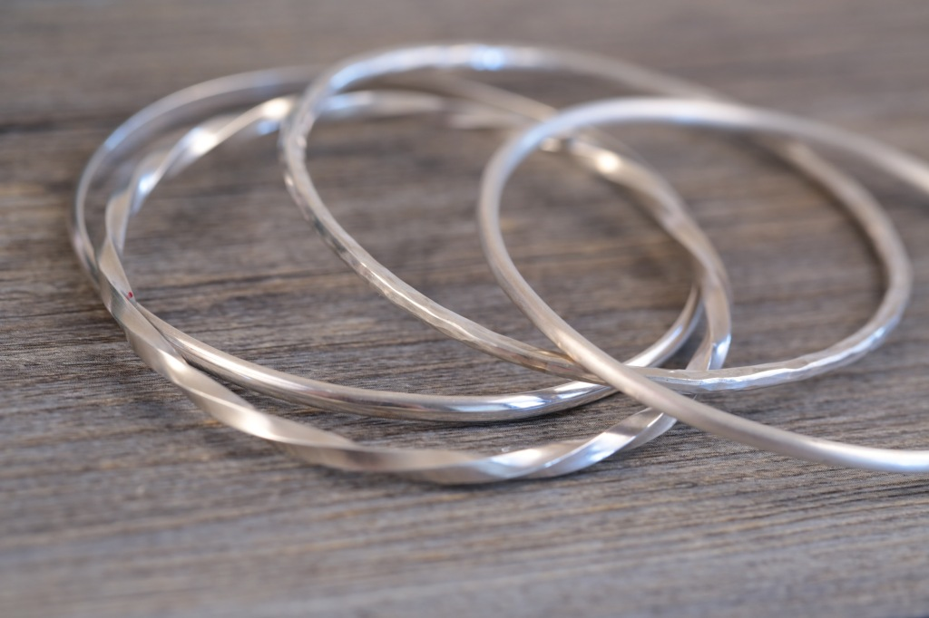 silver-stacking-bangles-one-day-class-london-jewellery-school