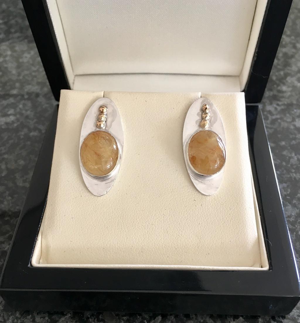 sandra-lcardle-london-jewellery-school-diploma-silver-earrings