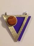 guida-cusso-stone-set-pendant-london-jewellery-school-diploma-in-silver-jewellery