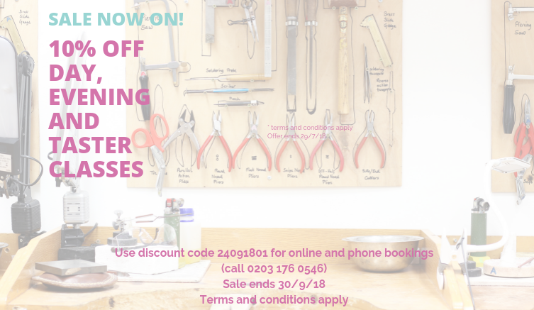 london-jewellery-school-flash-sale-10%-off