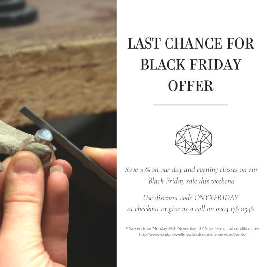 black friday sale offer london jewellery school
