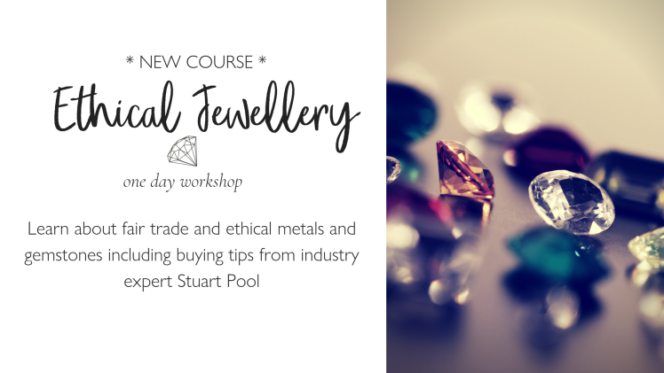 ethical jewellery class at the London Jewellery School